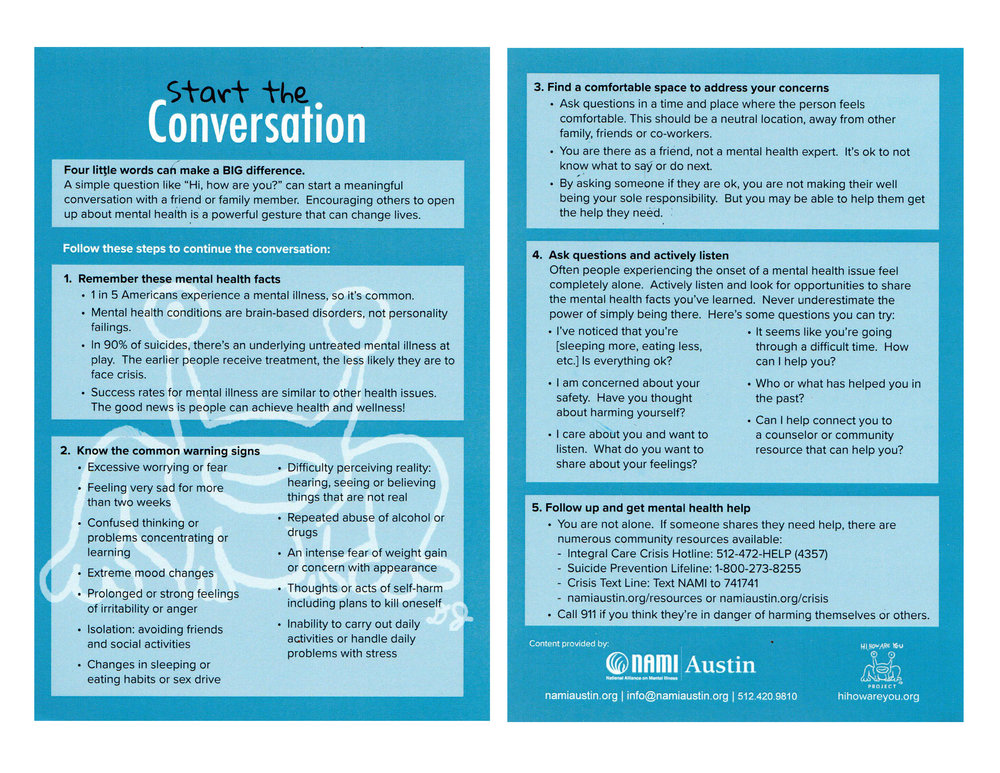 Start Conversations Early About Drugs >> Start The Conversation Hi How Are You Project
