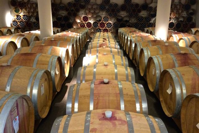 Barrels of Tuscan red