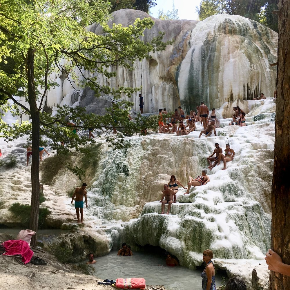 Saturnia (hot springs)