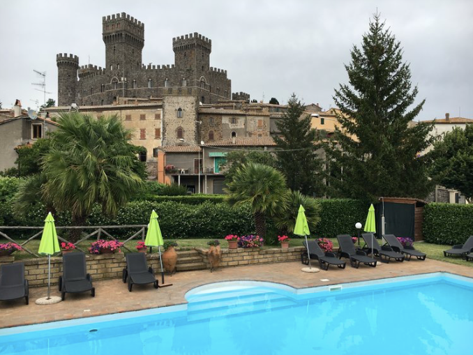 Our guests are welcome to use the pool just around the corner at Albergo Ristorante Nuovo Castello. Enjoy the hospitality and home cooking of the owners, Connie and Franco, when you stop in for lunch or dinner.