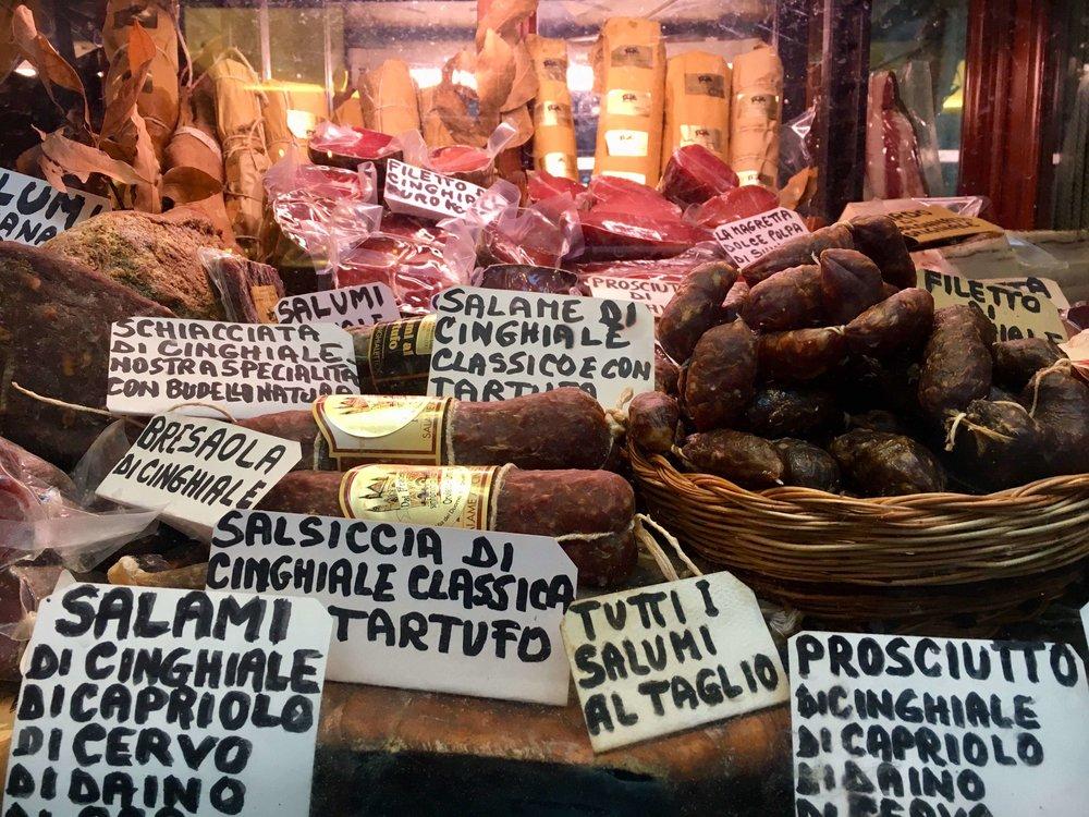 meat in case