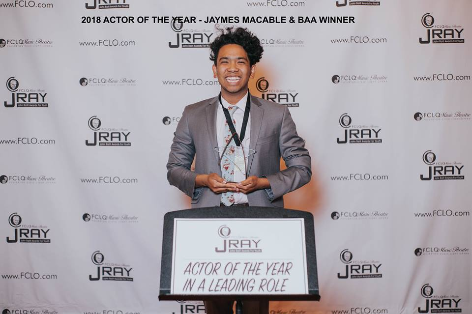 Congratulations Jaymes! - New York City Bound- Broadway Artist Alliance- Elite Program