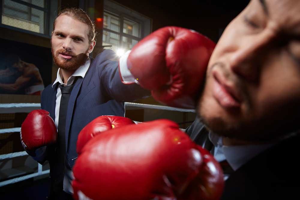Lessons - from a punch in the face