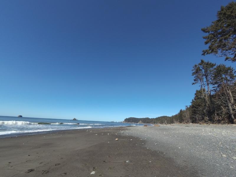 Hike 5 was beach-side, y'all!