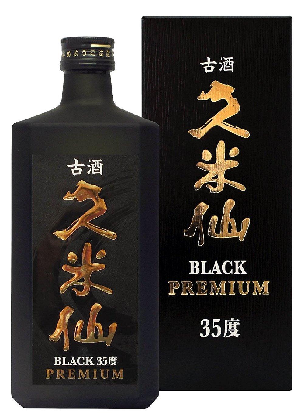 古酒 久米仙 - Kusu Kumeisen Black
