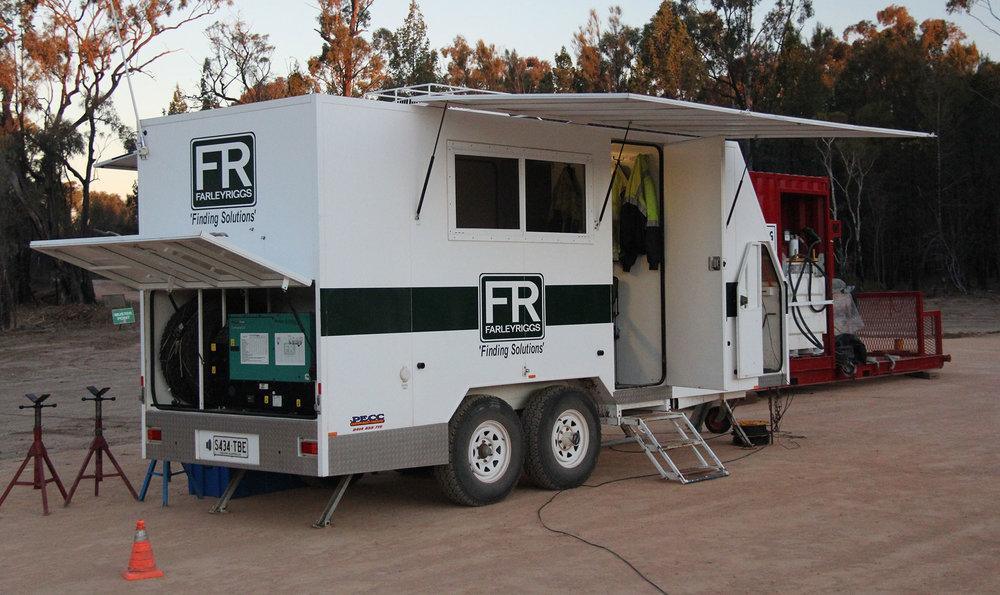 Farley Riggs showcase truck rental Australia