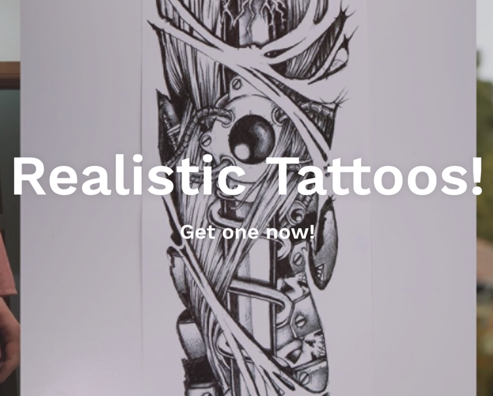Tempus Ink - Tempus Ink is a temporary tattoo comapny we designed the website and do all of the instagram and facebook marketing.