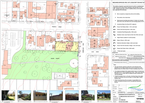 Preparation of Neighbourhood and Site Description Plans (Clauses 54 & 55).