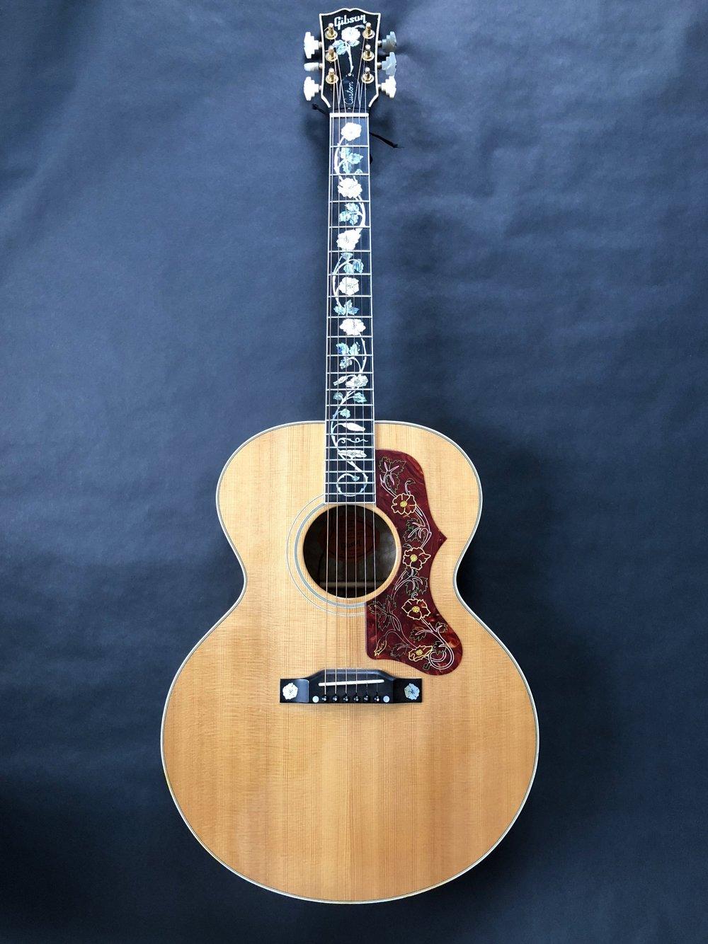 Gibson Custom Shop J-185 Rose Vine