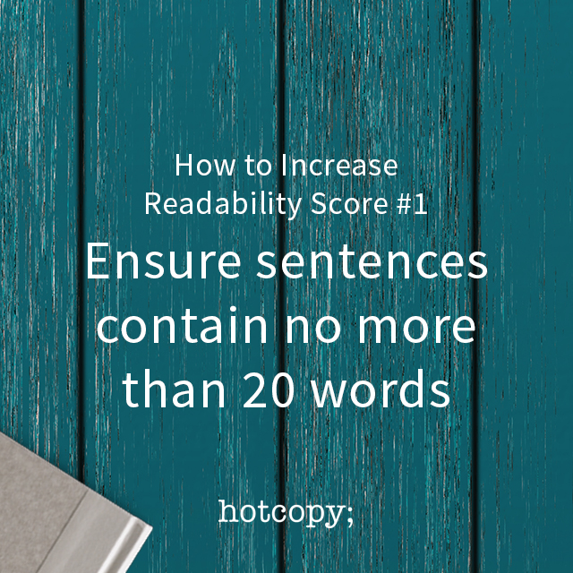 increase readability score 01