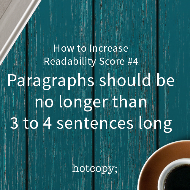 increase readability score 04