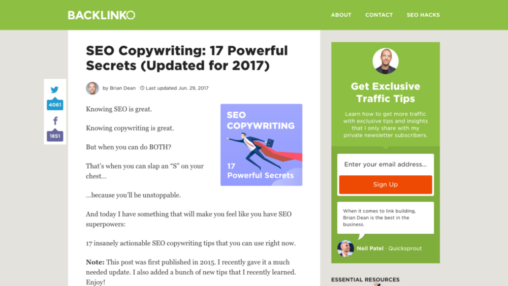 seo copywriting tools guide