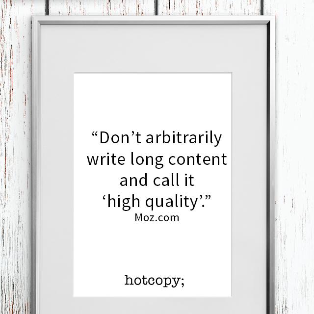 Quote:  Moz.com