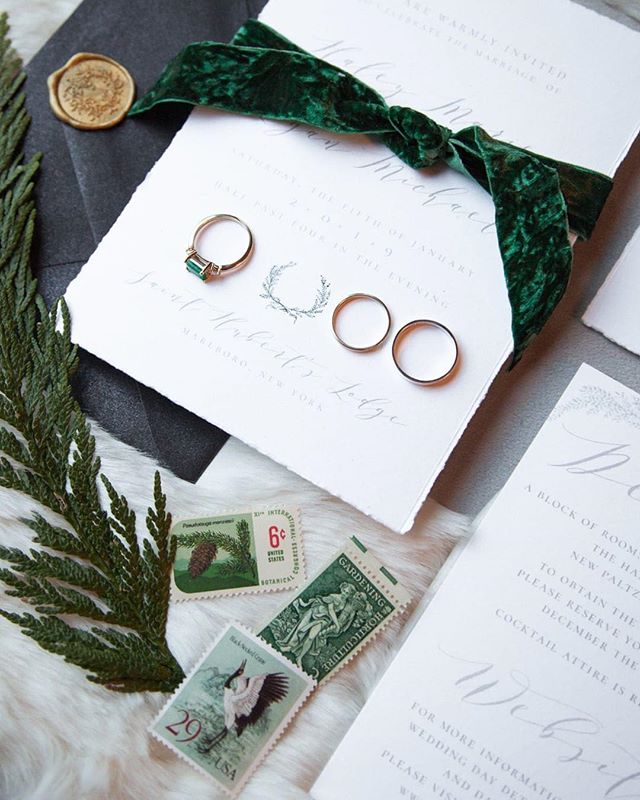Getting a glimpse of the gorgeous photos that @whitepoppyweddings took of our wintergreen (and oh-so-romantic) invitation suite! What an amazing team of vendors!✨🌲❄️ Planner: @eliteweddingplanning⠀⠀⠀⠀⠀⠀⠀⠀⠀ Venue: @sainthubertslodge⠀⠀⠀⠀⠀⠀⠀⠀⠀ Florist: @ashley.botanicals⠀⠀⠀⠀⠀⠀⠀⠀⠀ Jewelry: @duendejewelry⠀⠀⠀⠀⠀⠀⠀⠀⠀ Stationer/Signage: @flyaway_paper_co⠀⠀⠀⠀⠀⠀⠀⠀⠀ .⠀⠀⠀⠀⠀⠀⠀⠀⠀ .⠀⠀⠀⠀⠀⠀⠀⠀⠀ .⠀⠀⠀⠀⠀⠀⠀⠀⠀ .⠀⠀⠀⠀⠀⠀⠀⠀⠀ .⠀⠀⠀⠀⠀⠀⠀⠀⠀ . ⠀⠀⠀⠀⠀⠀⠀⠀⠀ #hudsonvalleyweddings #weddingvortex #theknot #theknotrings #whitepoppyweddings #hudsonvalleyphotographer #hudsonvalleyweddingphotographer #hudsonvalleyengagements #weddingwire #firstandlasts #junebugweddings #married #muchlove_ig #winterwedding #treefarm #christmastrees #winterwonderland #weddinginspo #winterweddinginspo #weddinginspo #evergreentrees #weddingideas #lodgewedding #flatlay #invitation #invitationstyling #flatlaystyling