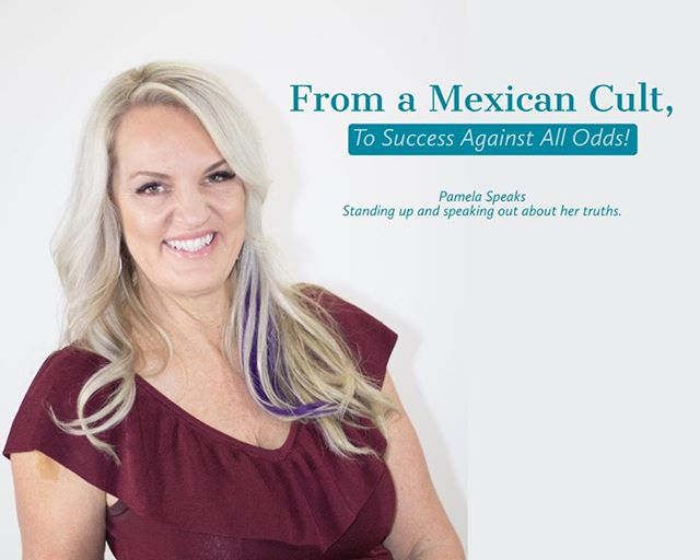 Though Pamela was facing seemingly insurmountable difficulties, she never lost sight of her goal. Her message of unswerving dedication to finding freedom. Visit the link up top to read more about Pamela's journey of leaving a Mexcian cult. . . #storyteller #author #speaker #motivationalspeaker  #influencer #minneapolis #publicspeaking #morningmotivation #supportingsmallbusinesses