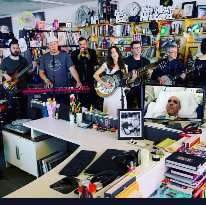 "Check out this official video of Bernie and the Believers performance on NPR's Tiny Desk Concert. Host Bob Boilen said: ""The story of Bernie and the Believers is the most powerful I've ever come across at the Tiny Desk. It's about a beautiful act of compassion that ultimately led to this performance, and left me and my coworkers in tears.""   Tiny Desk Concert Video"