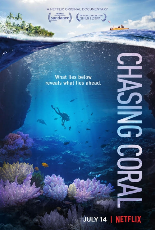 Chasing Coral  is   now streaming on Netflix.