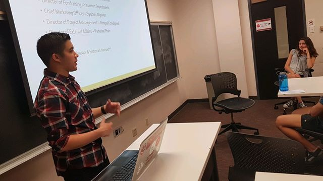 A big thank you to everyone who came out for our first info session last week! We have two more info sessions coming up this week: one tomorrow at 8 PM in VKC 158 and another on Wednesday same place and time. Hope to see you there!