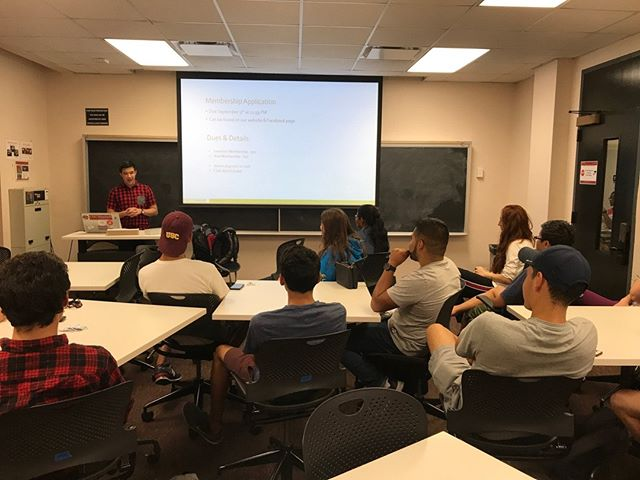 Great turnout tonight! If you haven't been to one of our info sessions yet, you can catch our last one tomorrow night at 8 PM in VKC 158. Hope to see you there!