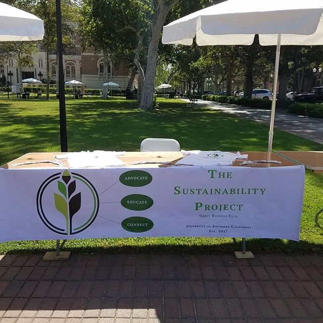 Stop by and grab a sticker at TSP's involvement fair booth today! We're between Doheny Library and Tommy the Trojan!