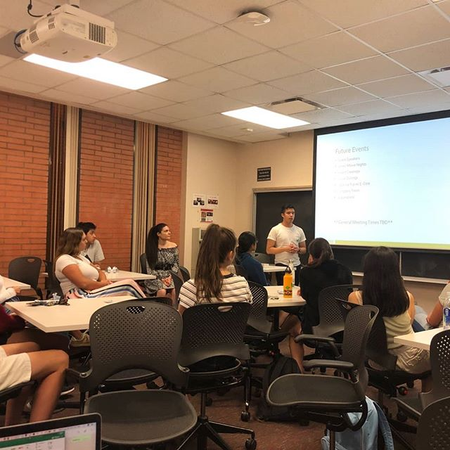 Thank you to everyone who came out tonight! That was the last of our info sessions this semester. However, if you missed our info sessions but still want to be involved, feel free to reach out and we'd be happy to meet with you and answer any questions. Also, just as a reminder, applications are due by 11:59 PM on September 9! Fight on!