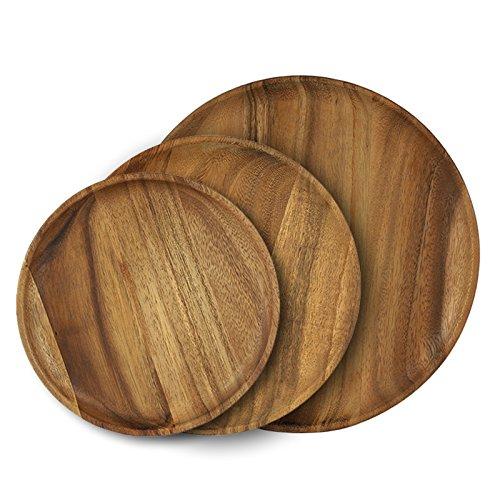 acacia wood platters