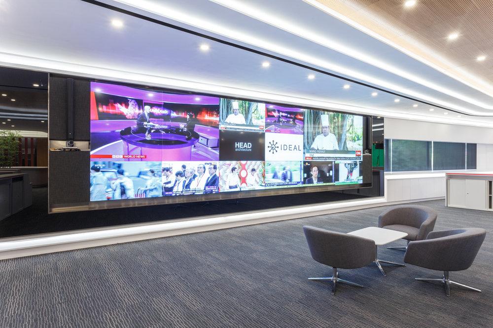 Tai Kung Wen Wei Media Group - LCD Wall