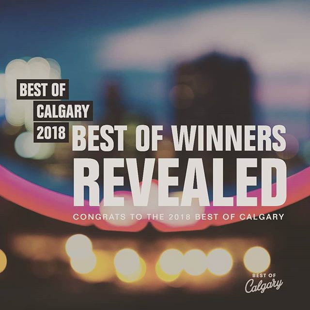 Congratulations to all of the winners, runners up and nominees who made the 2018 Best of Calgary list! Visit the link in our bio to peep the list and check out our interactive labs coming at you this month 👊