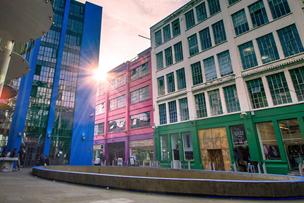 Birmingham - Located at the Custard Factory, set in 15 acres of beautifully restored Victorian factories, just five minutes walk from the Bullring, it is at the heart of Birmingham's buzzing creative and digital district.