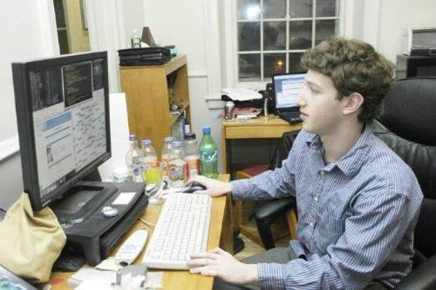 Young Mark Zuckerberg (via TechCrunch)