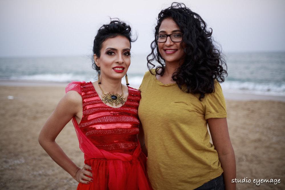 Radhika and Divya