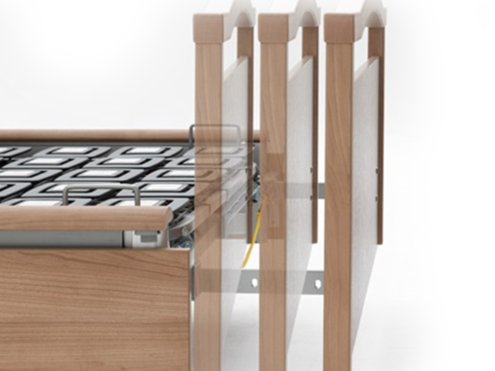 OSKA® Pressure Care Sentida 5 integrated bed extension