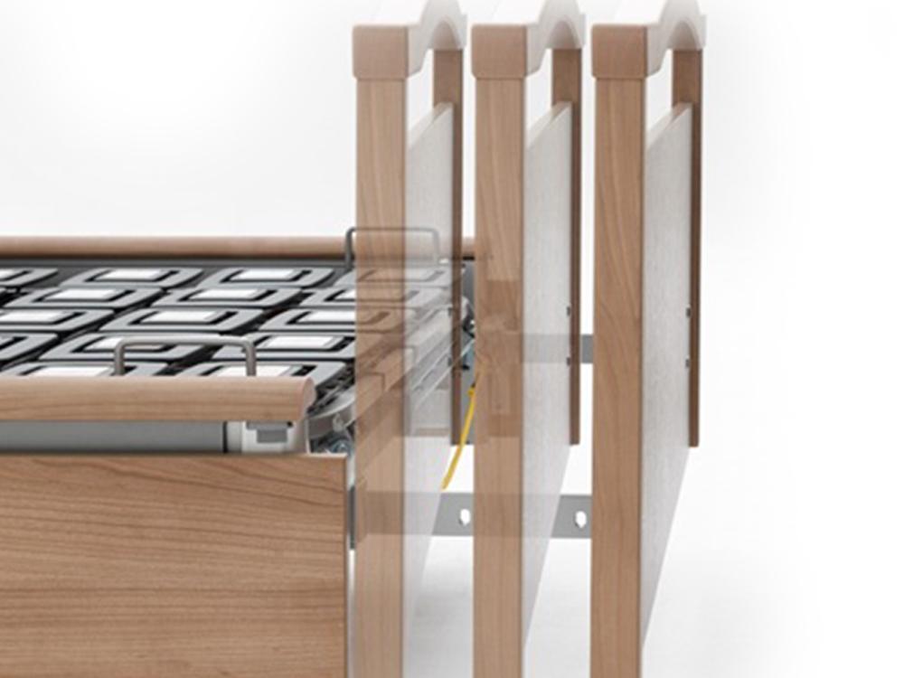 OSKA® Pressure Care Sentida 6 integrated bed extension