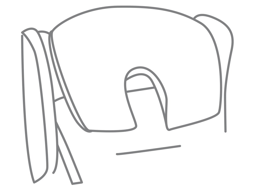 Large profile headrest