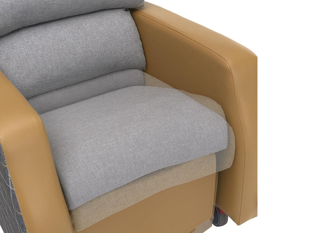 OSKA® Pressure Care Seating_OSKA Orient Pressure Care Seating_Independent Manual Adjust
