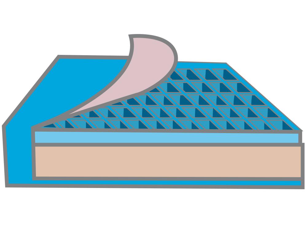 Gel honeycomb - Medium to high risk