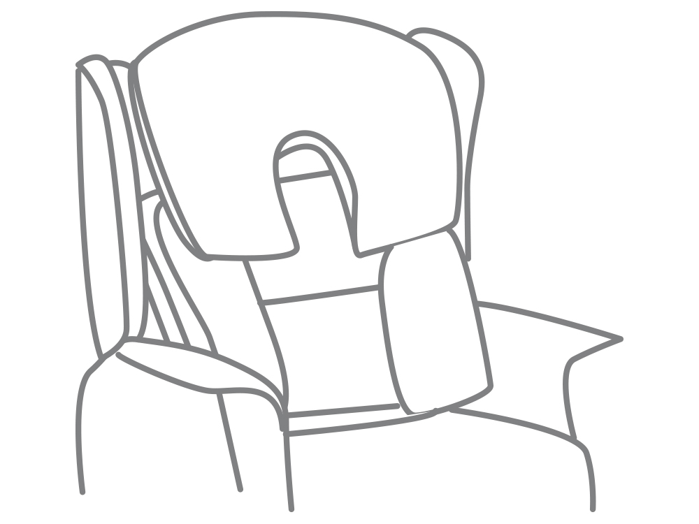 Profile comfort lateral