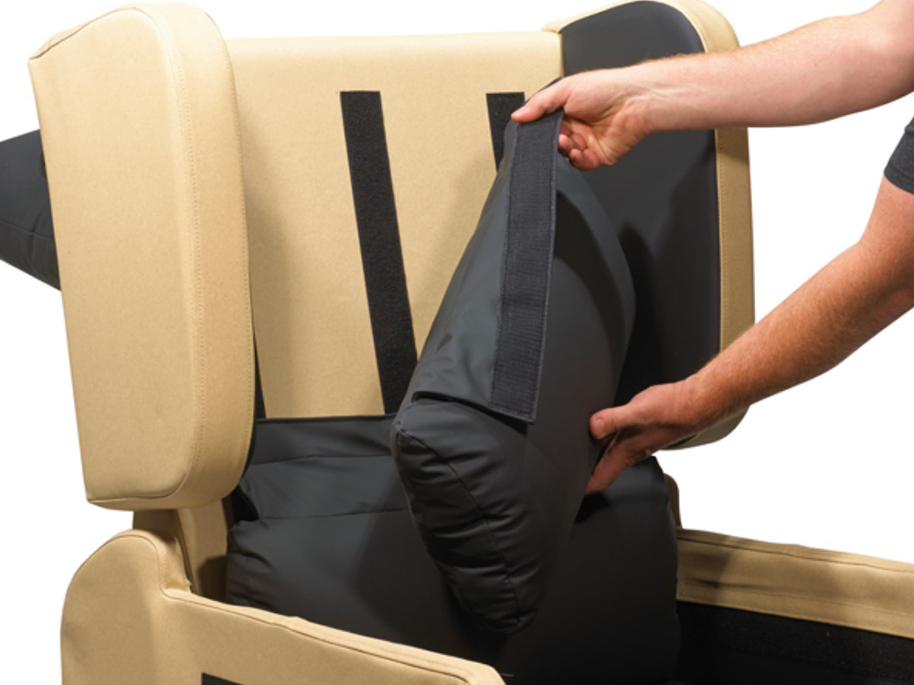 OSKA® Pressure Care Seating_OSKA Vertex Pressure Care Seating_Back cushion