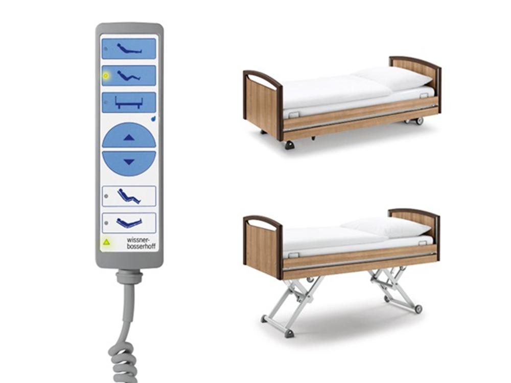 OSKA® Pressure Care Nursing Bed_Sentida  4 Pressure Care Nursing Bed_Smart handset
