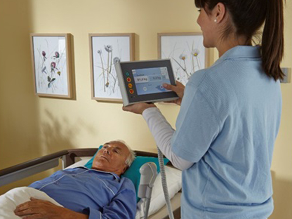 OSKA® Pressure Care Sentida 7i weight monitoring