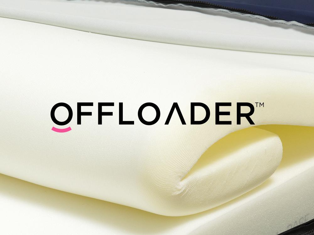 Pressure care mattress offloader