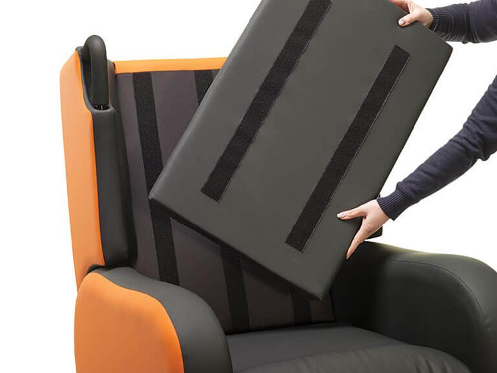 OSKA® Pressure Care Seating_OSKA Tune Pressure Care Chair_Seat depth