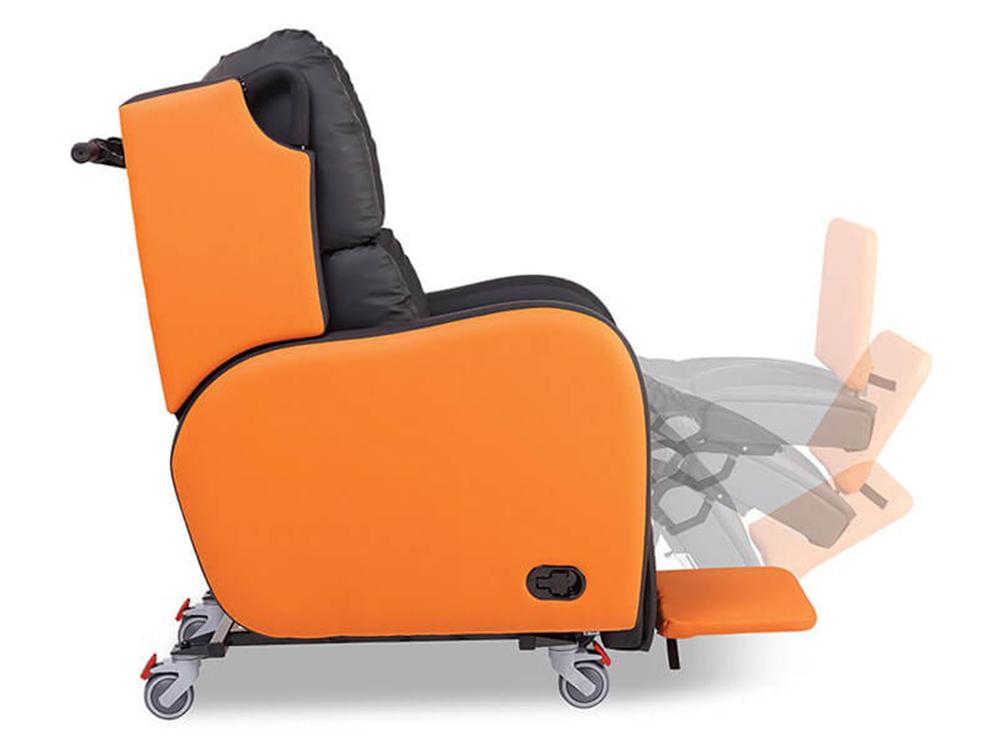 OSKA® Pressure Care Seating_OSKA Tune Pressure Care Chair_Leg rest