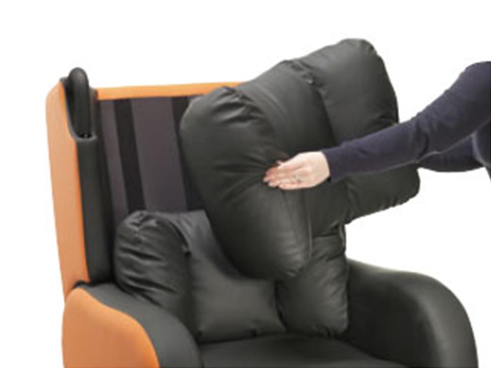 OSKA® Pressure Care Seating_OSKA Tune Pressure Care Chair_back rest