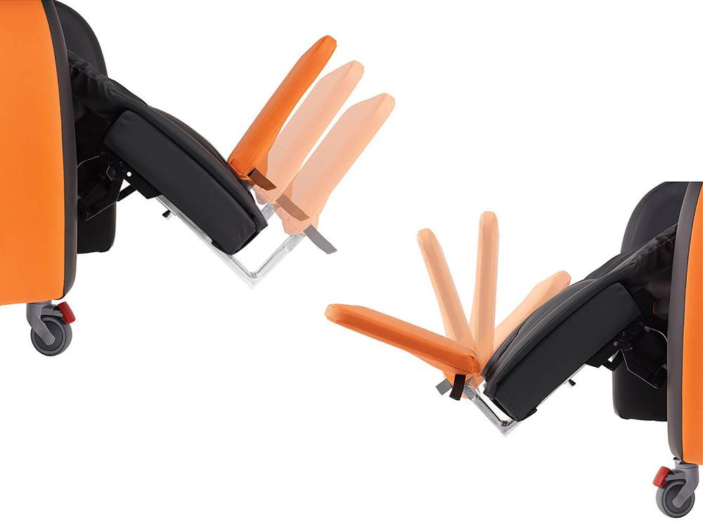 OSKA® Pressure Care Seating_OSKA Tune Pressure Care Chair_footplate