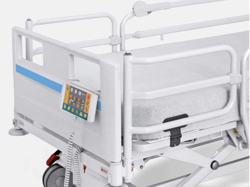 OSKA® Pressure Care Nursing Bed_Image 3 Pressure Care Bed_Hospital design