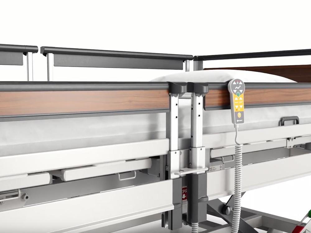 OSKA® Pressure Care Nursing Bed_Image 3 Pressure Care Bed_SafeFree