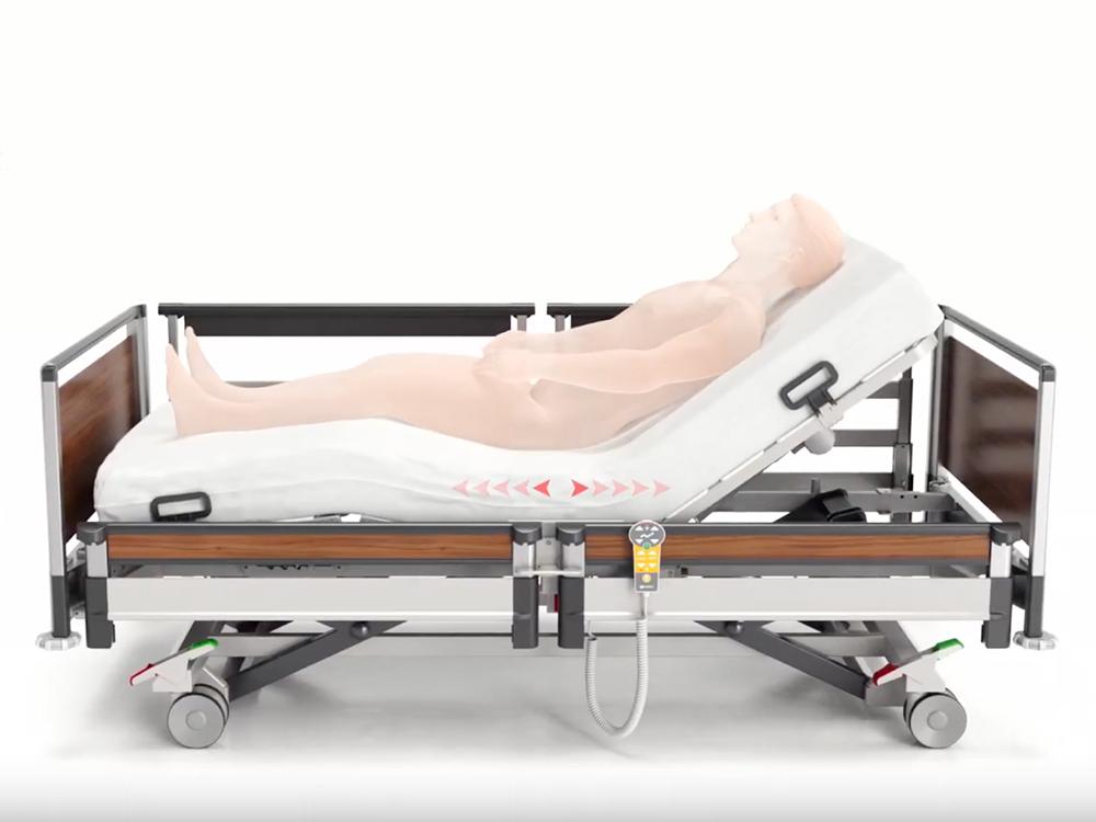 OSKA® Pressure Care Nursing Bed_Image 3 Pressure Care Bed_Ergoframe