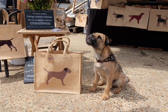 Gingeroo bags at Hill House Farm