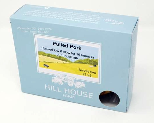 Pulled Pork cooked for 16 hours in our special Hill House rub